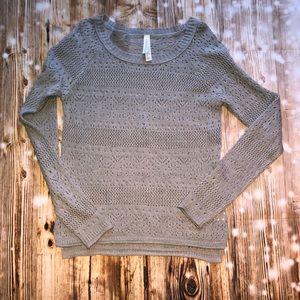 Aeropostale gray sweater size M